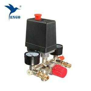 125 psi 1 Port Luftkompressor Druckschalter mit Regler Manometer