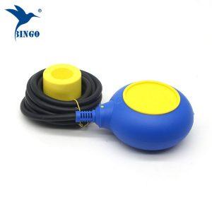 MAC 3 Typ Füllstandsregler in gelbem und blauem Kabel Schwimmerschalter